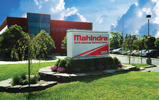 Mahindra Technical Center in US.